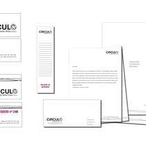 Circulo - identitat corporativa. Un proyecto de Diseño gráfico de Raquel Duart         - 28.03.2016