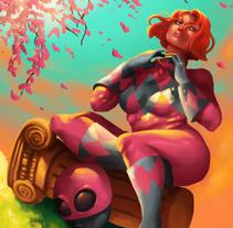 Le Ranger Rose. Un proyecto de Ilustración y Diseño de personajes de Isaac Garabito - 11-08-2015