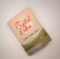 Crystal Lake Pop-Up. Un proyecto de Diseño editorial y Diseño gráfico de Isaac Garabito - 06-05-2014
