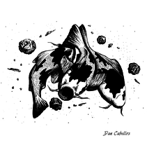 Kois en el Hidroverso.. Um projeto de Ilustração de Dan Cabellos         - 30.03.2016