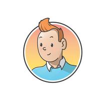 """Diseño de personajes de """"Las Aventuras de Tintín"""". Um projeto de Ilustração, Direção de arte, Design de personagens, Design gráfico e História em quadrinhos de Felix Avendaño         - 04.04.2016"""