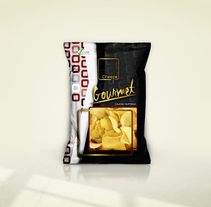 Packaging Chips Gourmet. A Street Art project by Pablo Deparla         - 04.04.2016