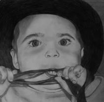 Retrato a lápiz. Um projeto de Ilustração de Sandra Gala Sanz         - 05.04.2016