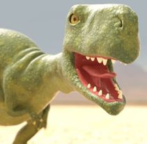 Dino. A 3D, and Character Design project by Felipe Cortes         - 09.10.2015