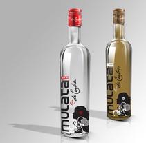 Ron Mulata bottle design. Um projeto de Packaging de Jose Ribelles         - 13.04.2016
