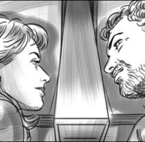Julieta - Pedro Almodóvar. Storyboards. Un proyecto de Cine de Pablo Buratti - 16-04-2016