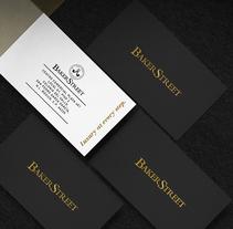 Baker Street by @diestro. Un proyecto de Diseño, Br, ing e Identidad, Moda, Diseño gráfico y Diseño de interiores de Diestro  - 16-04-2016