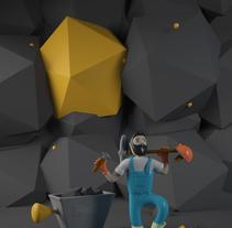 Mi Proyecto del curso: Diseño de personajes en Cinema 4D: del boceto a la impresión 3D. Um projeto de 3D e Animação de Eduardo Pérez Borrachero         - 18.04.2016