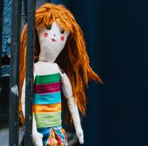 Muñeca de tela. Un proyecto de Artesanía de María Esteban León         - 18.04.2016