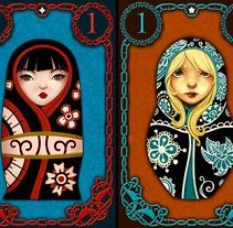 Matrihoska Game. A Illustration, Art Direction, Character Design, and Game Design project by eduardo  berazaluce         - 24.04.2016