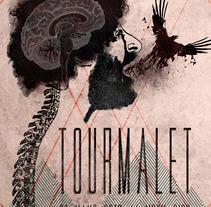 Cartel de Tourmalet - Ilustración para music lovers. Un proyecto de Diseño gráfico de Alberto Andrés Fernández - 26-04-2016