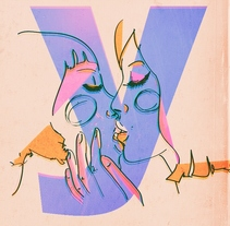 Girly as fuck. Un proyecto de Ilustración, Br, ing e Identidad, Diseño de personajes y Arte urbano de Laura G. - 25-08-2017