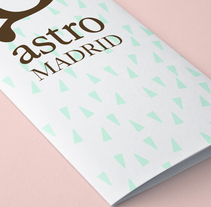 Astro - Diseño gráfico y editorial. A Design, Br, ing, Identit, Editorial Design, and Graphic Design project by Sandra López García         - 01.05.2016