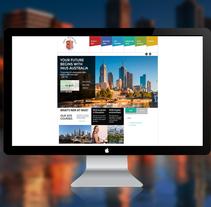 Sitio Web INUS Australia. A Web Development project by As Diseño Diseño Web Monterrey         - 01.05.2016