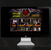 Sitio Web Horror Fest 2015. A Web Development project by As Diseño Diseño Web Monterrey         - 02.05.2016