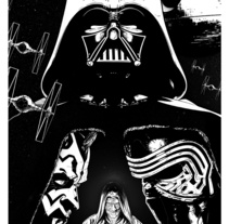 Ilustración Star Wars Lado Oscuro. A Comic project by Salvador Navarro Portillo         - 04.05.2016