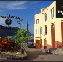 Postales Ron Aldea. Un proyecto de Diseño gráfico e Infografía de Richard A. Diaz Jimenez         - 19.11.2015