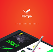Kampa Web site. A Web Design project by Daniel Mata - 11-01-2016