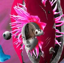 Fragmentos. Um projeto de Direção de arte, Design gráfico, Pós-produção e Colagem de Gerson Cabrera         - 09.05.2016