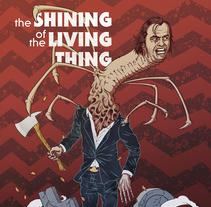 The Shining of the Living Thing. Un proyecto de Ilustración de Andreu Zaragoza         - 31.01.2015