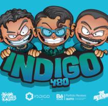 Team Indigo480 / Character Design. Un proyecto de Ilustración, Animación y Diseño de personajes de Daniel Carrillo         - 13.05.2016