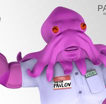 Doktor Pavlov | Maya, Arnold, Mudbox. Um projeto de 3D de Paco Ruiz - 16-05-2016