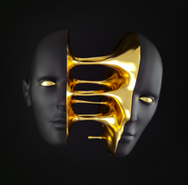 Gold Cut. A Design, 3D, Art Direction, and Graphic Design project by Blas Oliet López         - 20.05.2016