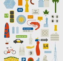 Barcelona Simplified. A Design&Illustration project by Enric Jardí - 05.23.2016