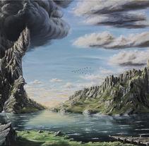 Imaginary Landscapes. Un proyecto de Ilustración, Bellas Artes y Pintura de Manuel Prados Ledantes         - 29.06.2016