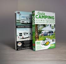 Ediciones JD - Guía Camping 2016 - Guía Autocaravanas 2016. Un proyecto de Diseño, Dirección de arte, Diseño editorial y Diseño gráfico de Twotypes         - 29.05.2016