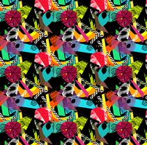 Colección Estampados Moda Baño SS2017 / Pattern Collection Fashion Beachwear SS2017 Acid 90´s. Um projeto de Design, Direção de arte e Moda de Isabel Martinez Sierra         - 29.05.2016