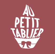 AU PETIT TABLIER (AL PEQUEÑO DELANTAL). A Br, ing, Identit, and Packaging project by Bamstudio         - 02.06.2016