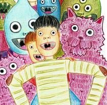 """""""Niños Peculiares"""". Um projeto de Ilustração de Sixto Jiménez         - 05.06.2016"""