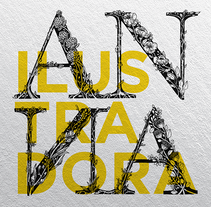 Anna ilustración ( web sobre el trabajo de mi esposa ;D ). A Web Design project by Aldo Hermes - 10-06-2016