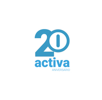 """ACTIVA """"20 aniversario"""". Un proyecto de Diseño y Diseño gráfico de Alejandro Vázquez Olmeda         - 30.04.2016"""