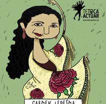 TETOCA ACTUAR ONGD. A Illustration project by Silvia Picazo Aguirregabiria         - 26.06.2016