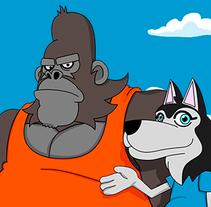 Mi Proyecto del curso: Animación 2D con Toon Boom Harmony. Un proyecto de Publicidad, Cine, vídeo, televisión y Animación de Daniel RGB - 30-06-2016