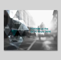 Fiware - Folleto Cities. Un proyecto de Dirección de arte, Diseño editorial y Diseño gráfico de e_madrazo         - 05.07.2016