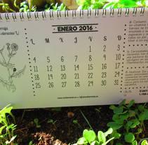 Calendarios ecológicos. A Graphic Design project by Fernando Gonzalez         - 06.07.2016