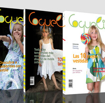 Diseño portada revista Coquelico. A Br, ing, Identit, Editorial Design, Graphic Design, Naming, and Lettering project by Maider Barrutia Unzueta - 14-02-2010
