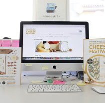 WORLD CHEESE AWARDS. A Illustration, Photograph, Graphic Design, and Web Design project by Judith_Inga         - 11.07.2016