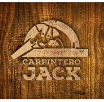 Carpintero Jack Logotipo. A Graphic Design project by Marcela   Narváez         - 12.07.2016