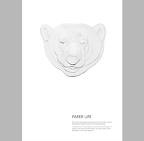 Paper life. A Advertising, Editorial Design, and Graphic Design project by Maite Gutiérrez - Jul 12 2016 12:00 AM