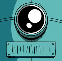 Las aventuras de marcelo el robot / character creation. Un proyecto de Ilustración, Diseño de personajes y Comic de Mattia Pirillo - 23-07-2016