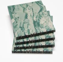 Keke Vilabelda / Hueso y hormigón. Un proyecto de Diseño, Diseño editorial y Diseño gráfico de el bandolero Lacabra  - 26-07-2016