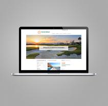 Thesunpeninsula.com. Un proyecto de Diseño gráfico y Desarrollo Web de Estudio Maba  - 10-08-2016