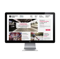 Instagramers Gallery. Un proyecto de Diseño gráfico y Desarrollo Web de Estudio Maba         - 10.08.2016