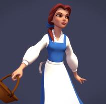 Beauty / Bella. Um projeto de 3D e Design de personagens de gesiOH         - 16.08.2016