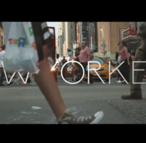 Motion Tracking - New Yorkers. Un proyecto de Motion Graphics de Teresa Gayo - 29-08-2016