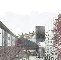 Renders ilustrados arquitectura. Un proyecto de Ilustración y Arquitectura de dmentes_estudio - 23-08-2016